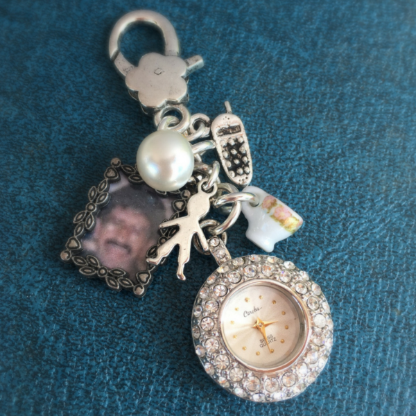 Congrats Andreja – Bidal Bouquet charms honoring those she loves in her life