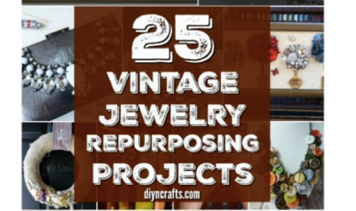 * 25 Amazingly Creative Ways To Repurpose Vintage Jewelry