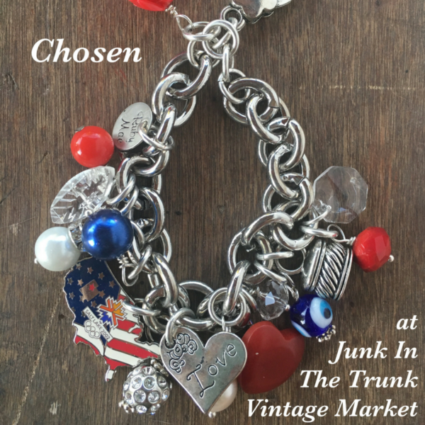 Miss Red, White & Blue Bracelet