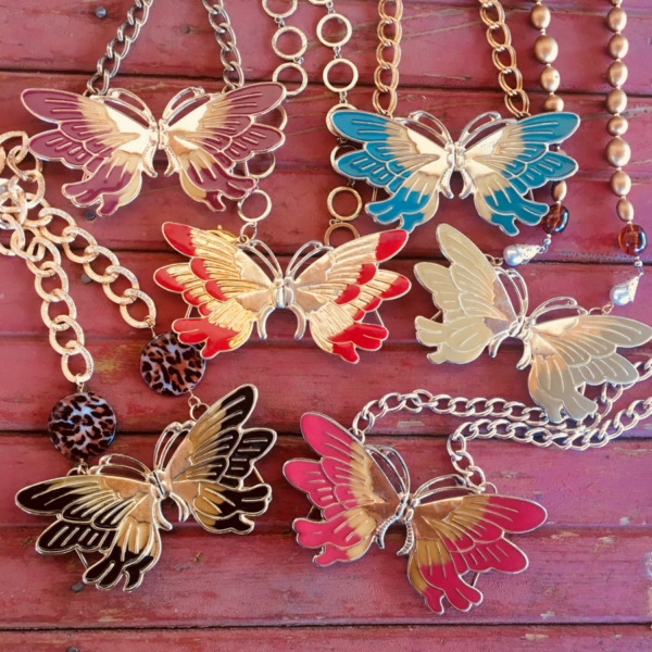 Butterfly Buckle Necklaces